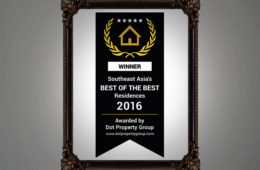 Southeast Asia's BEST OF THE BEST Residences 2016
